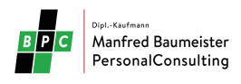 Baumeister PersonalConsulting - Personalberatung   Executive Search
